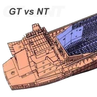 Difference between gross tonnage and net tonnage?